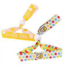Children in Need Festival Wristbands