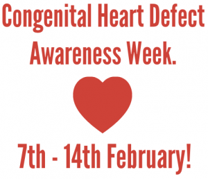 CHD Awareness Day - wear red & purple to raise awareness