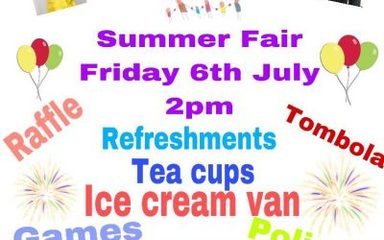 PTA Summer Fair 2pm Start