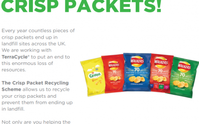 Crisp Packet Recycling